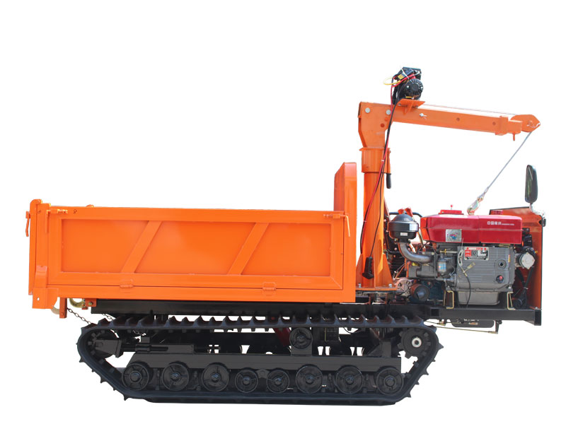 3 ton crawler truck