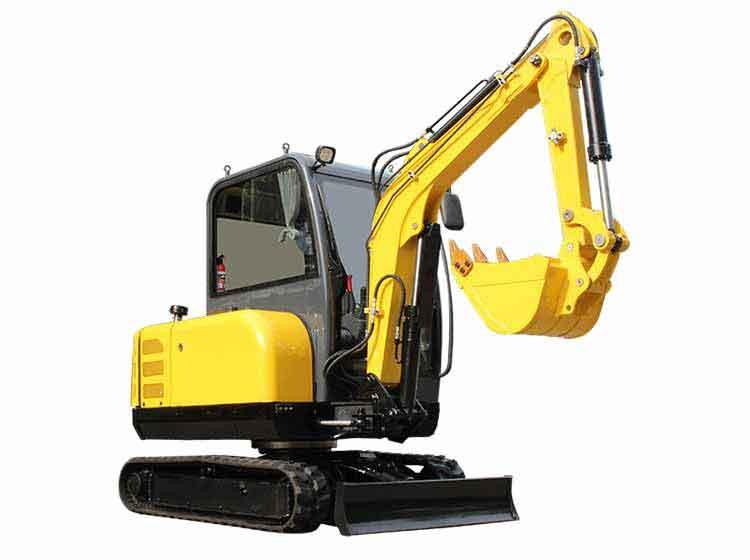 3 ton small excavator