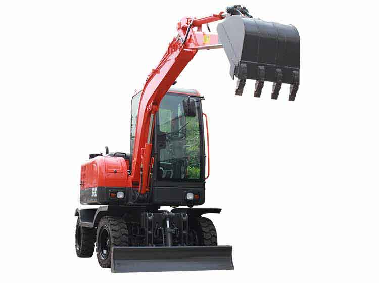 R355L wheels excavators
