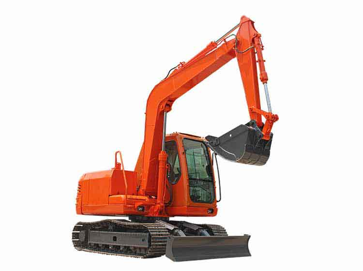 R390 small excavator auger