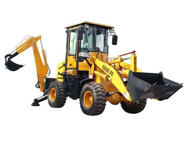 backhoe digger loader