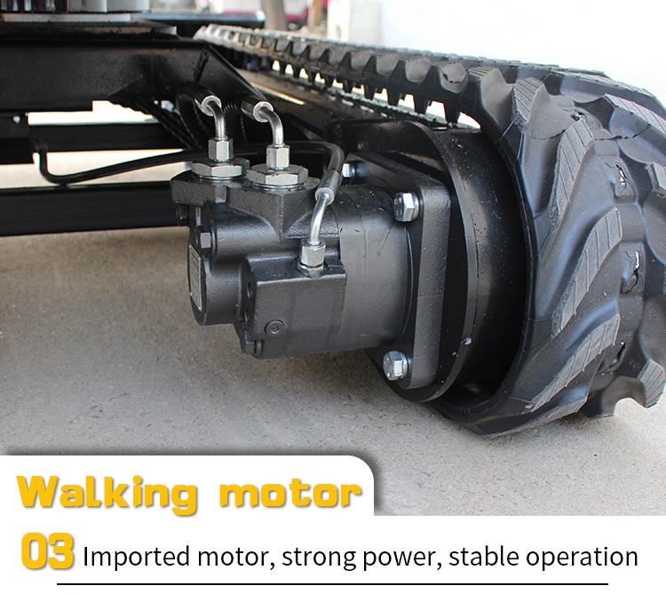 Small Excavator – R325 Side swing-Rippa China