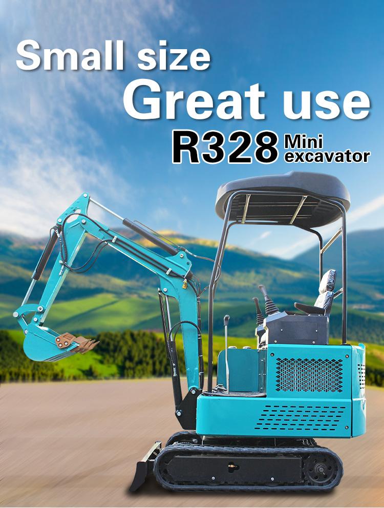 Small Excavator – R328-Rippa China
