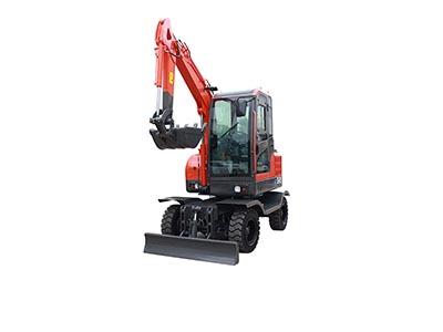 Small Excavator – R355 Wheel digging